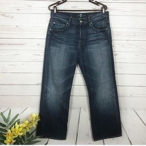 7 For All Mankind Relaxed Fit Jeans Size 31